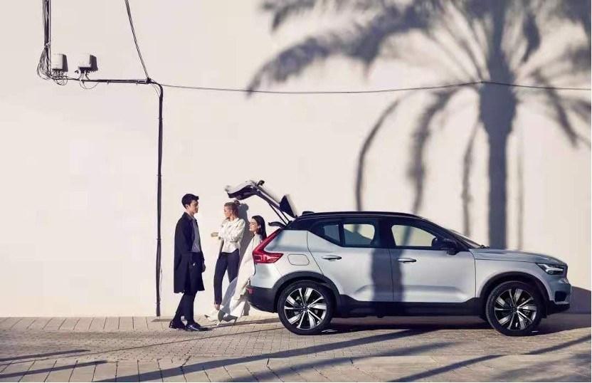 沃尔沃汽车拥抱新四化的最新力作——沃尔沃XC40纯电版