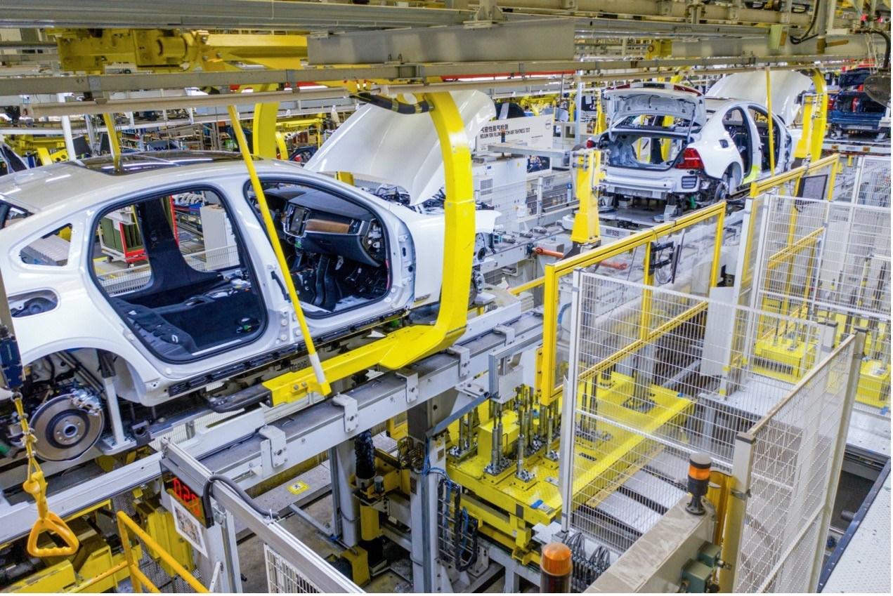 沃尔沃汽车大庆工厂是S90全球唯一制造基地