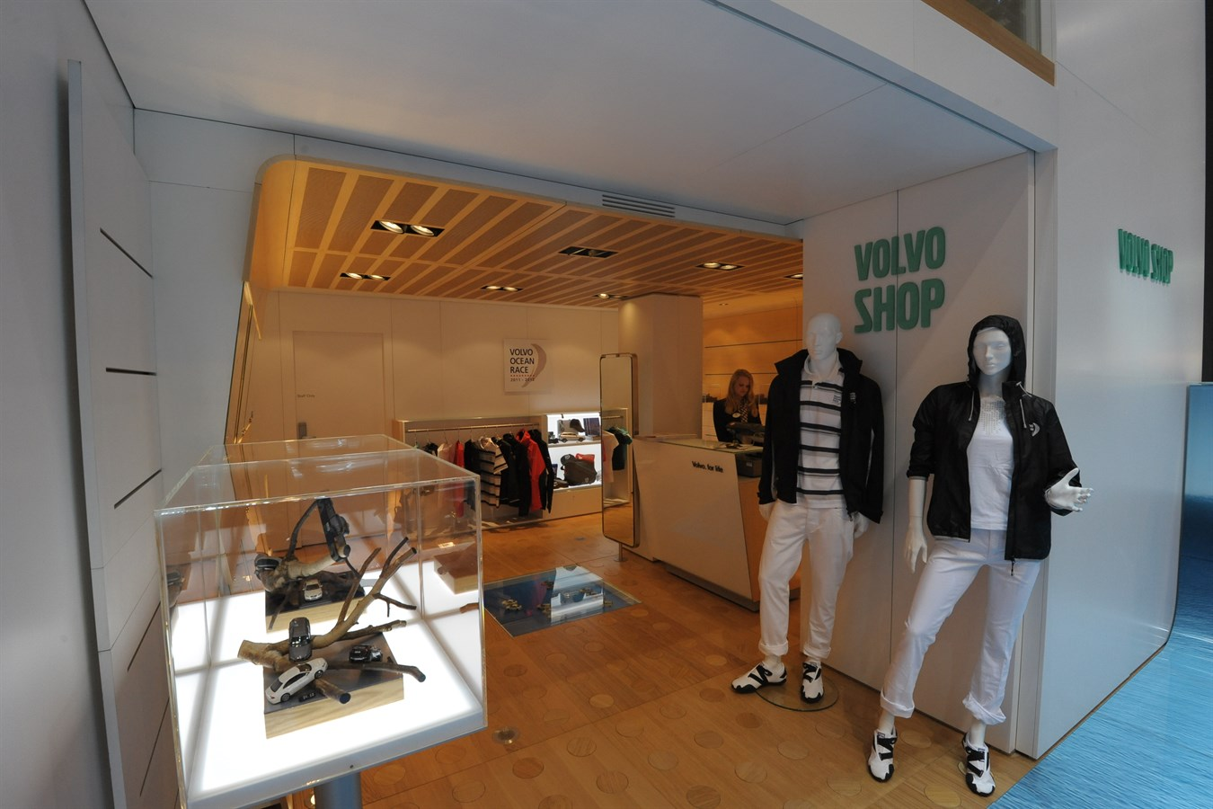 Volvo Cars' stand at Geneva Motor Show 2011 - Merchandise collection