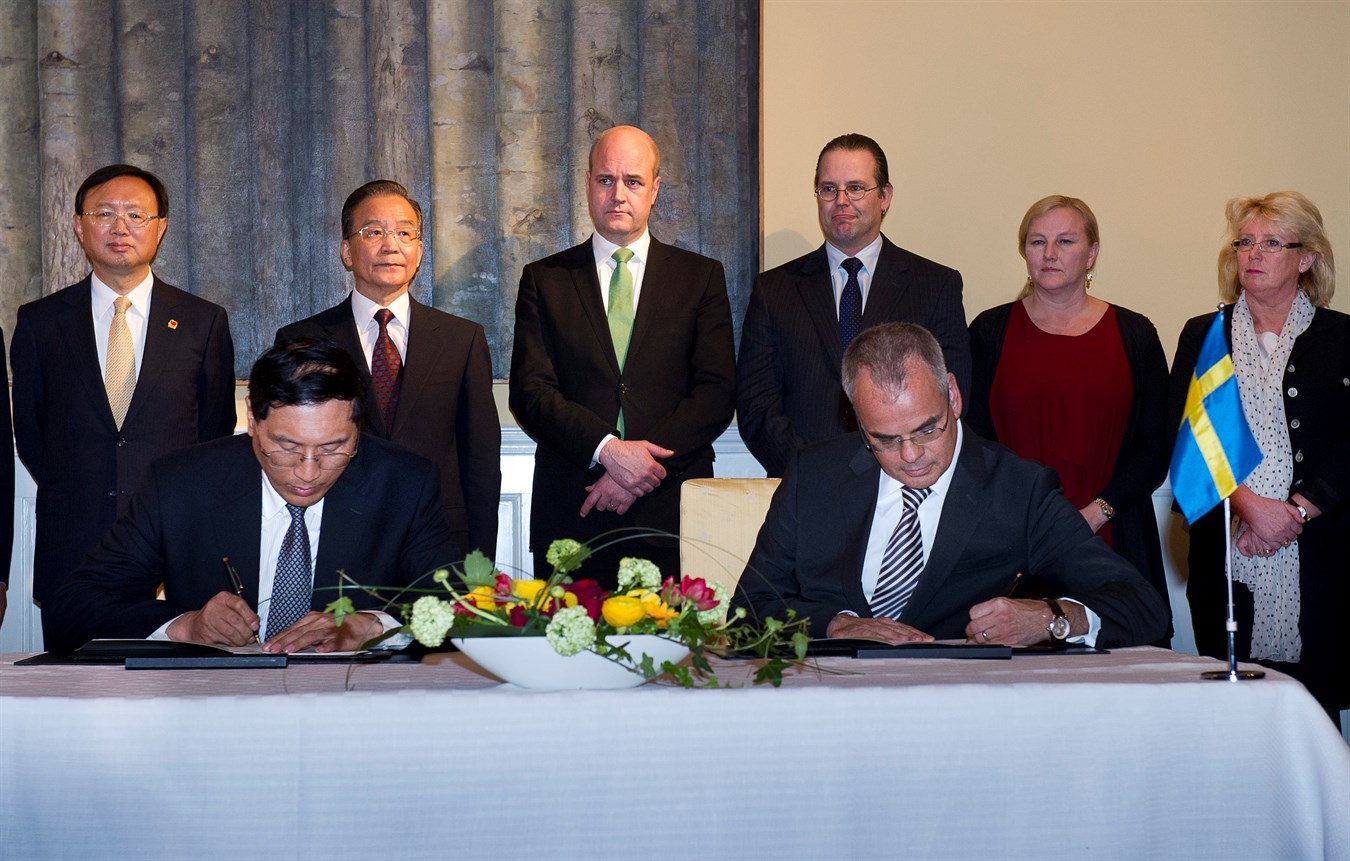 Volvo Car Corporation signs MoU on strategic partnership with China Development Bank Corporation
