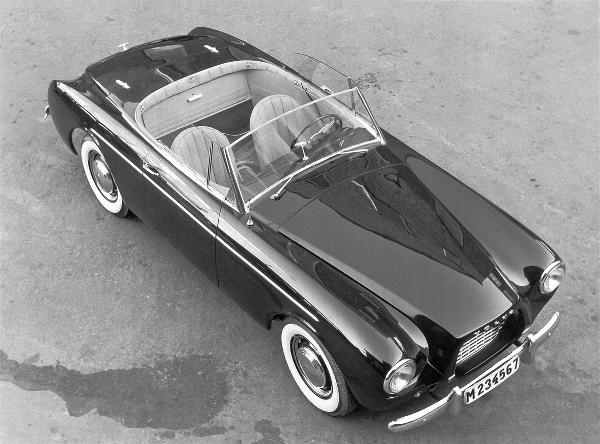 A rare Volvo convertible turns 60 years: the Volvo Sport - Volvo Car