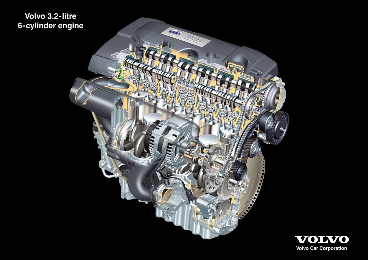 The all new Volvo S80 – Driveline - New six-cylinder in ...