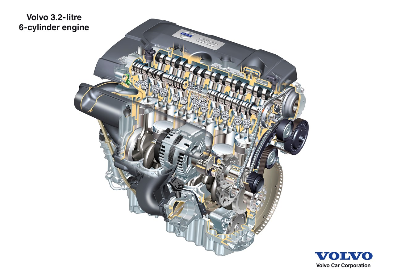 The all new volvo s80 driveline new six cylinder in line engine powers the all new volvo s80 volvo car group global media newsroom