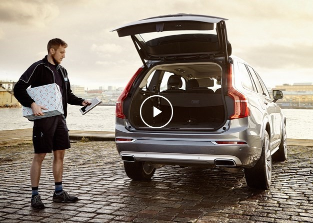 Volvo lets you have your Christmas shopping delivered directly to your car