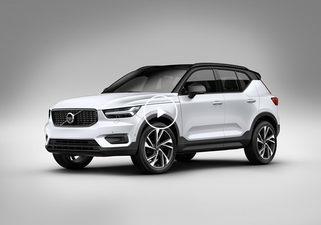 New Volvo XC40 exterior design video