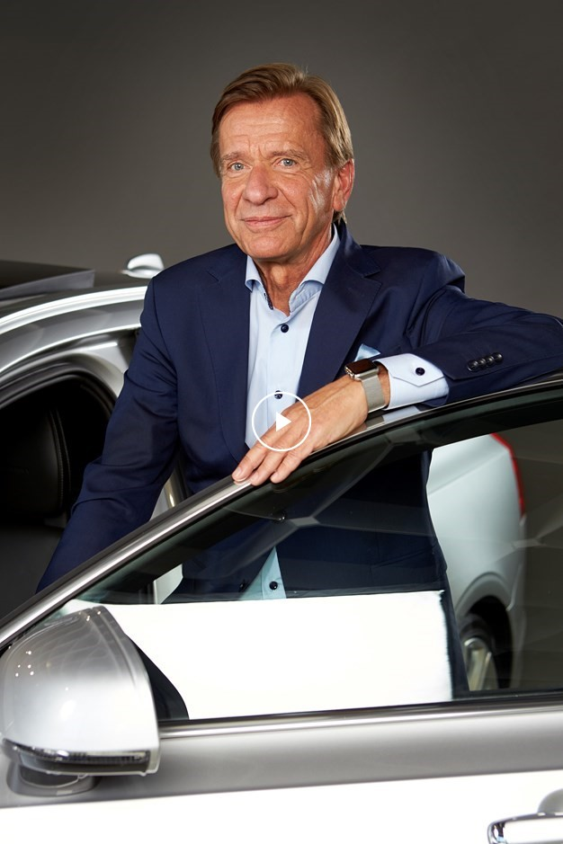 Volvo Cars CEO Hakan Samuelsson is the World Car Person of the Year