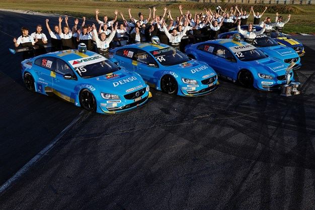 Double victory for Volvo Polestar Racing in the 2013 STCC finale