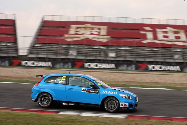 Tough but competitive WTCC weekend for Volvo Polestar Racing in China
