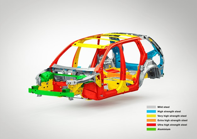 All-new XC90 safety cage (with text)