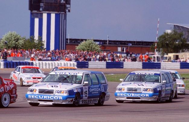 The Volvo 850 Estate in the 1994 BTCC