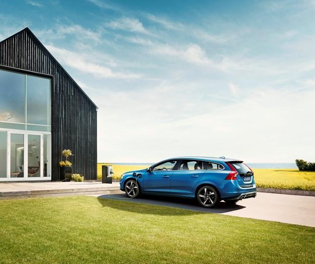 The 2015 Volvo V60 Plug-in Hybrid R-Design