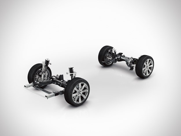 The all-new Volvo XC90 - Chassis