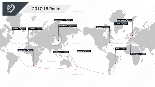 Кругосветная регата Volvo Ocean Race 2017/18  стартует в октябре из Аликанте