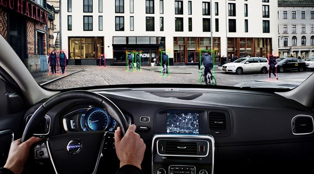 Pedestrian and Cyclist Detection with full auto brake