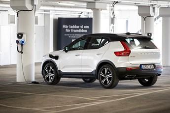 Volvo und BatteryLoop verwenden die Batterien elektrifizierter Volvo Fahrzeuge für solarbetriebene Energiespeicher
