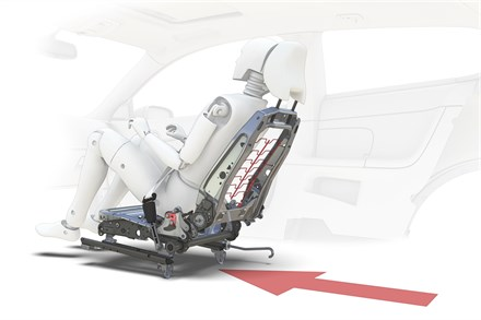 Volvo Cars receives highest rating for its unique whiplash protection
