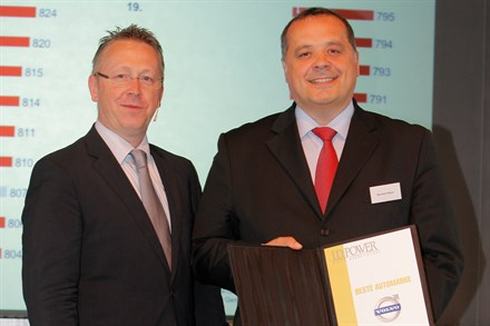 Volvo Car Corporation gets J.D. Power award for customer satisfaction