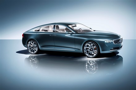 Concept You from Volvo Car Corporation: Luxurious Scandinavian design with intuitive smart pad technology