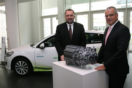 Siemens and Volvo Car Corporation start partnership within electric engines