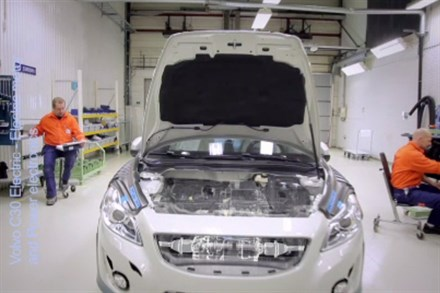 Volvo C30 Electric - Electric Motor and Power Electronics (2:55), speaker and sound