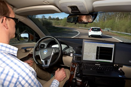 Risk of being injured in a Volvo reduced by 50 percent since year 2000