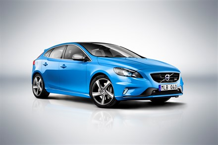 Volvo Car Corporation launches the V40 R-Design: Dynamic drive with sports inspired looks