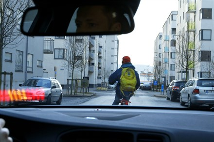 Volvo presenteert Cyclist Detection with full Autobrake