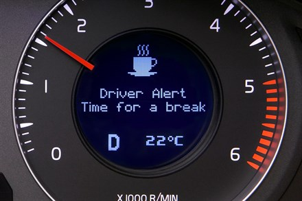 Volvo Cars introduces new systems for alerting tired and unconcentrated drivers