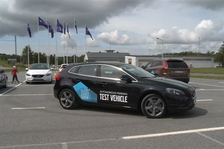 Volvo Cars reveals world-class safety and support features - Newsfeed video still