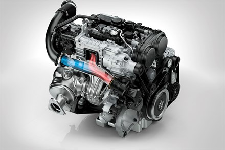 Volvo Cars' new Drive-E powertrains – efficient driving pleasure with world-first technologies