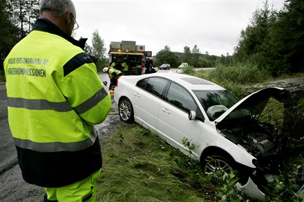 Looking at the moments before and during the collision gives Volvo Cars accident research team know-how that saves lives