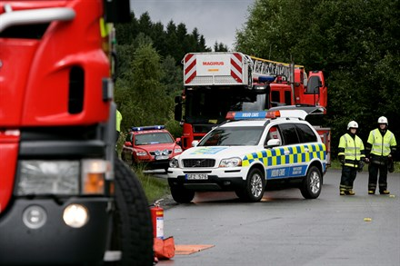 Volvo Cars accident research team at work