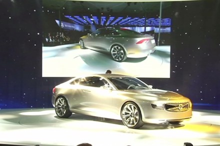 Launch of the Volvo Concept Universe, Shanghai 2011 - Image Still