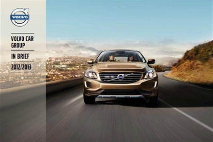 Volvo Car Group In Brief 2012/13