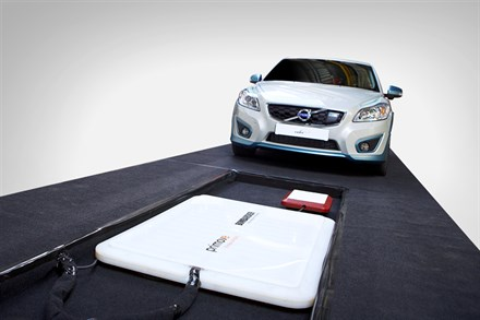 Volvo C30 Electric – inductive charging