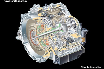 Volvo Cars launches Powershift - Two Transmissions in One