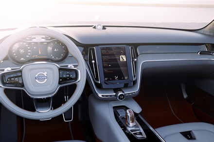 Design and Technology at Heart of Volvo Car Group's New in-car Experience