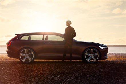 Volvo Car Group presenta la Concept Estate al Salone dell'Auto di Ginevra