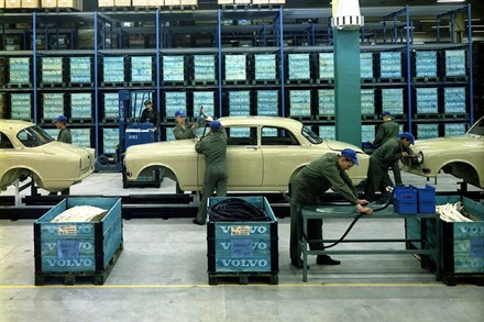 Volvo Car Torslanda celebrates the past 50 years by looking ahead