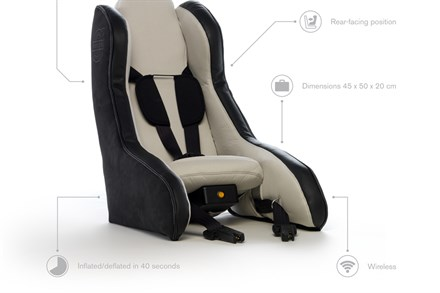 Volvo Unveils Revolutionary Inflatable Child Seat Concept, Explores Future of Child Protection