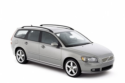 New Volvo V50 - Built according to Volvo's consistent environmental philosophy