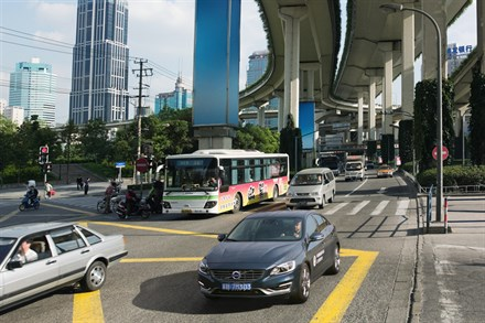 Volvo Cars paves the way for improved safety by studying driver behaviour in Chinese megacities