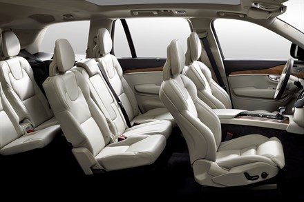 The all-new Volvo XC90 - flexibility animation
