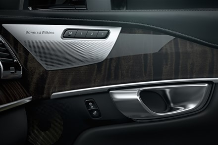Volvo Cars teams up with Bowers & Wilkins to create an exceptional audio system for the all-new Volvo XC90