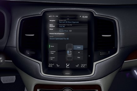 The all-new Volvo XC90 - infotainment animation