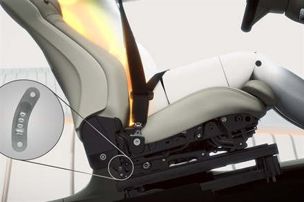 Volvo XC90 – energy-absorbing functionality in seat