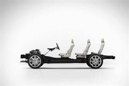 The all-new Volvo XC90 - Scalable Product Architecture