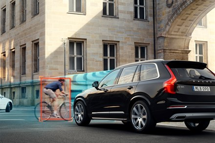 IIHS Study: Volvo's City Safety Reduces Rear-End Crashes by 41%, Injuries by 48%