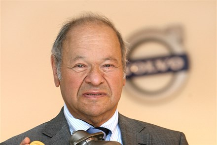 Gold medal for Wallman's environmental work for Volvo Car Corporation