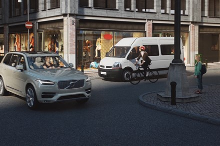 Volvo Cars and POC demonstrate life-saving wearable cycling tech concept at International CES 2015